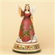 Christmas Angel Musical Figurine - Jim Shore, Heartwood Creek, 4032486