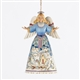 Winter Scene Angel Ornament - Jim Shore, Heartwood Creek, 4034408