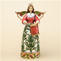Colonial Williamsburg Christmas Angel Figurine - Jim Shore, Heartwood Creek, 4034425