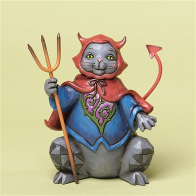 Halloween Cat Figurine - Jim Shore, Heartwood Creek, 4034437