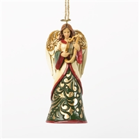 Heartwood Creek Green and Ivory Angel Hanging Ornament by Jim Shore 4036334