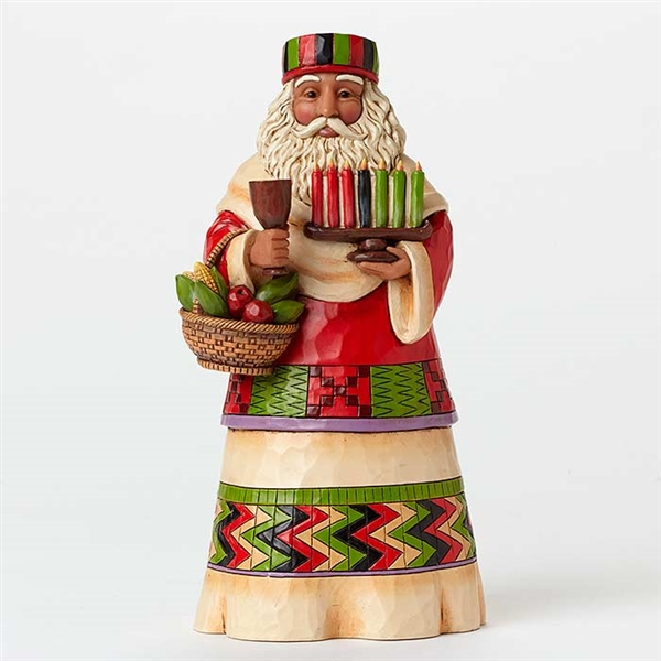 Heartwood Creek Around The World Santa's African Figurine by Jim Shore | 4046766