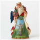 Heartwood Creek Around The World Santa's Brazilian Figurine by Jim Shore | 4046767