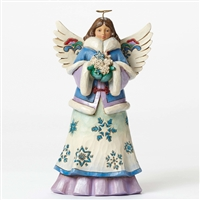 Heartwood Creek Angel Winter Wonderland  Collection Figurine by Jim Shore 4047658