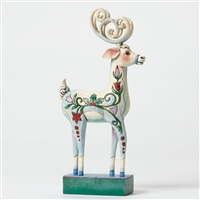 Heartwood Creek Blitzen Reindeer Figurine by Jim Shore 4047661