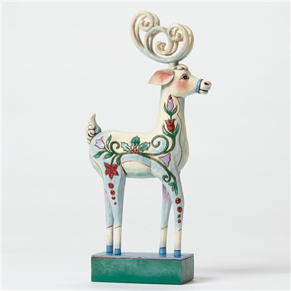 Heartwood Creek Blitzen Reindeer Figurine by Jim Shore, 4047661