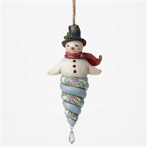 Heartwood Creek Winter Wonderland Snowman Ornament by Jim Shore, 4047667