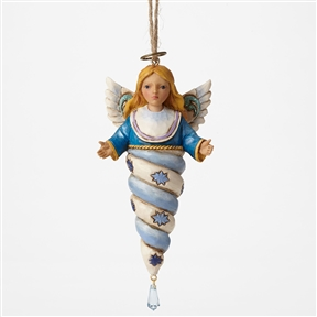 Heartwood Creek Winter Wonderland Angel Ornament by Jim Shore, 4047668