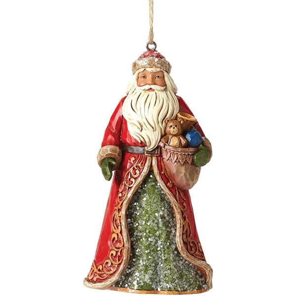 Heartwood Creek Victorian Santa Ornament by Jim Shore | 4047682