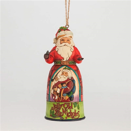 Heartwood Creek Jolly Old St Nicholas Ornament By Jim