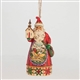 Heartwood Creek Church Scene Santa Ornament by Jim Shore 4047788
