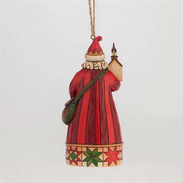 Heartwood Creek Church Scene Santa Ornament by Jim Shore, 4047788 ...