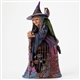 Heartwood Creek Witch with Cat Behind Gate Figurine by Jim Shore, 4047838