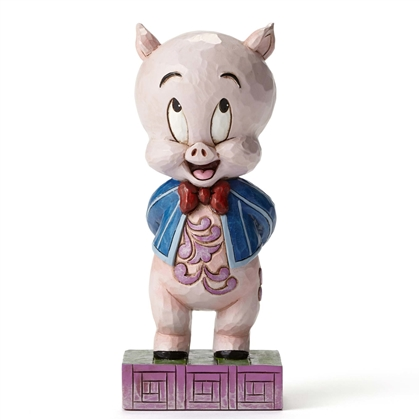 Looney Tunes Porky Pig Figurine By Jim Shore 4049385