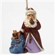 Heartwood Creek Santa with Bag of Toys Ornament by Jim Shore