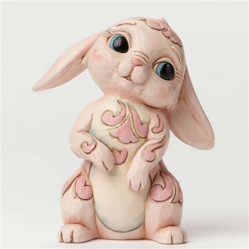 Heartwood Creek Pint/Q Pink Bunny Figurine