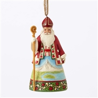 Heartwood Creek Santa's Around the World, Swiss Figurine by Jim Shore