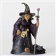 Heartwood Creek Witch with Graveyard Scene Figurine By Jim Shore