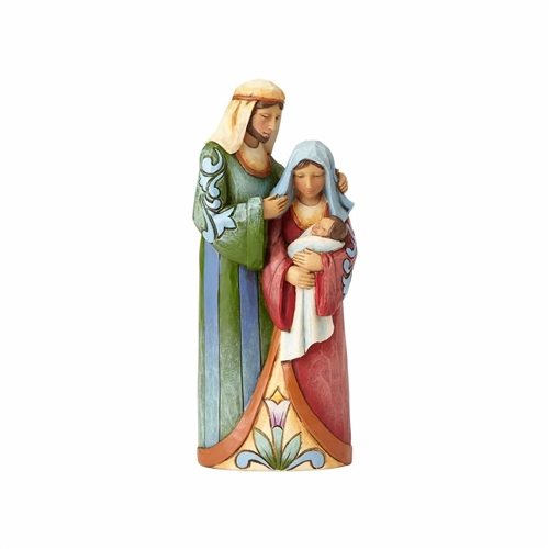 Heartwood Creek One-Piece Holy Family Figurine