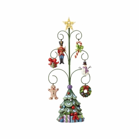 Heartwood Creek Christmas Tree with 6 Ornaments