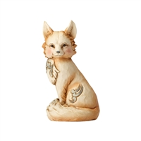 Heartwood Creek White Woodland Fox Figurine by Jim Shore 4056971