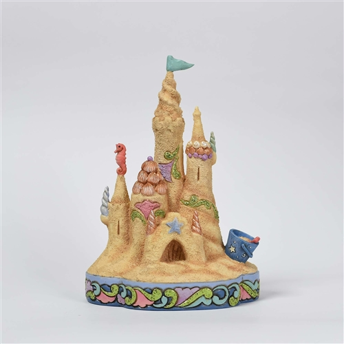 Heartwood Creek Ocean Wonderland Sand Castle Figurine by Jim Shore 4057693