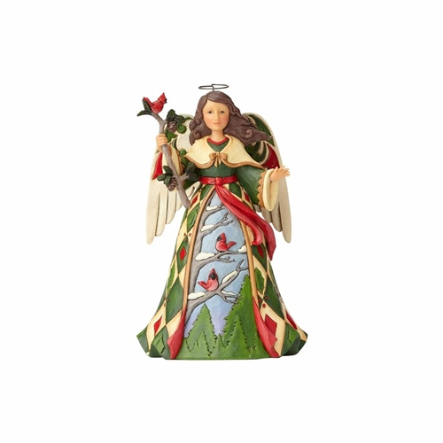 Heartwood Creek Christmas Angel with Cardinals by Jim Shore 4058799