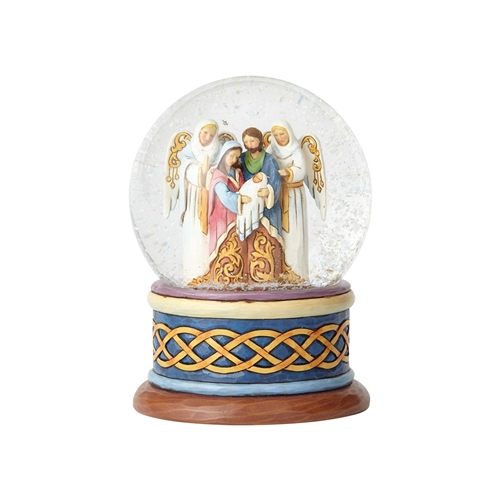 Heartwood Creek Nativity Water ball By Jim Shore 4058801