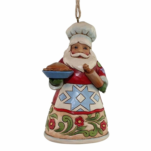 Heartwood Creek Culinary Santa Ornament