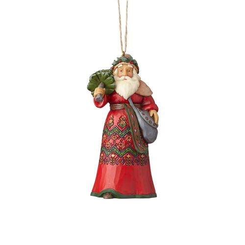 Heartwood Creek Swedish Santa Ornament