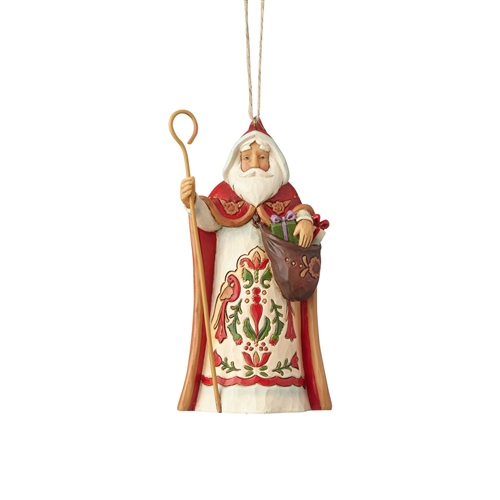 Heartwood Creek Austrian Santa Ornament by Jim Shore 4058820