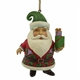 Heartwood Creek Santa Holding Gifts Ornament 4058823