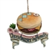 Margaritaville Cheeseburger Paradise Ornament