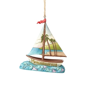 Margaritaville Sailboat Ornament by Jim Shore 4059128