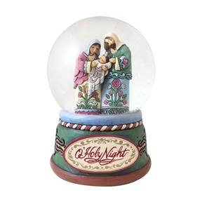 Heartwood Creek Holy Family Waterball by Jim Shore, 4060586
