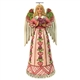 Heartwood Creek Angel with Heart Cancer Awareness Figurine 6000674