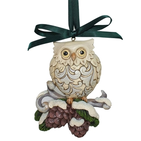 Heartwood Creek Legend of Pinecone Owl Ornament