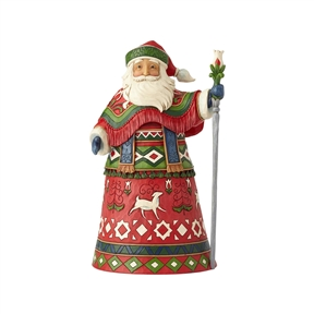 Heartwood Creek 11th Annual Lapland Santa Figurine by Jim Shore 6001463
