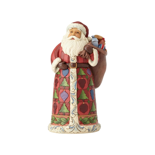 Heartwood Creek Santa with Toy Bag Figurine by Jim Shore 6001464