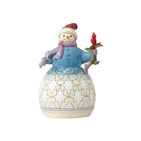 Heartwood Creek Snowman with Mittens by Jim Shore Figurine 6001478