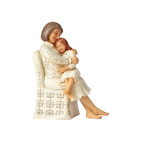 Heartwood Creek Woman Sitting with Child Figurine by Jim Shore, 6001558