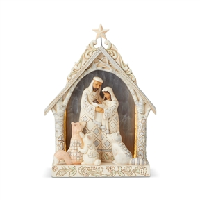 Heartwood Creek Woodland Nativity Figurine by Jim Shore | 6003361