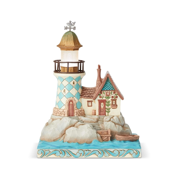 Heartwood Creek Seaside Lighthouse Figurine by Jim Shore 6004029