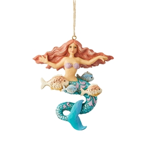 Heartwood Creek Mermaid Hanging Ornament by Jim Shore, 6004030