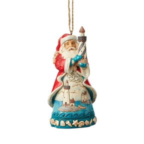 Heartwood Creek Santa Hanging Ornament by Jim Shore, 6004033