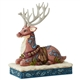 Heartwood Creek Victorian Reindeer Laying Down Figurine by Jim Shore, 6004180