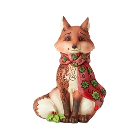 Heartwood Creek Winter Wonderland Fox Figurine by Jim Shore