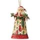 Heartwood Creek Santa with Cardinals Ornament by Jim Shore, 6004303