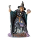 Heartwood Creek Witch with Crystal Ball Figurine, 6004326