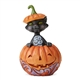 Heartwood Creek Cat in Pumpkin Mini Figurine, 6004330